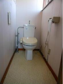 便器も古くなって、汚れが付きやすくなって きたので、この機会に節水トイレに!