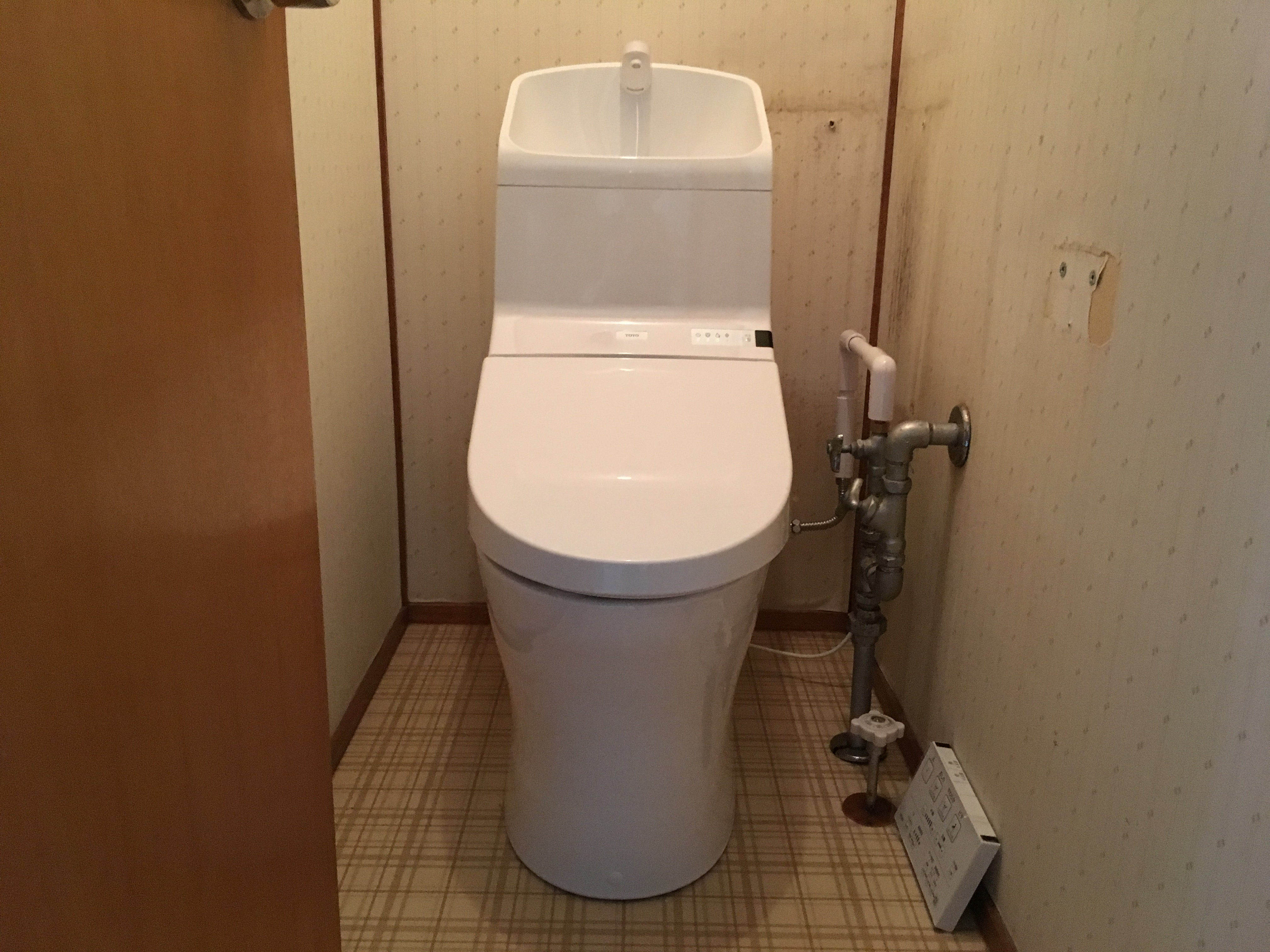トイレ本体の交換のみ<br />